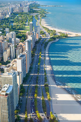 Chicago from Hancock Center