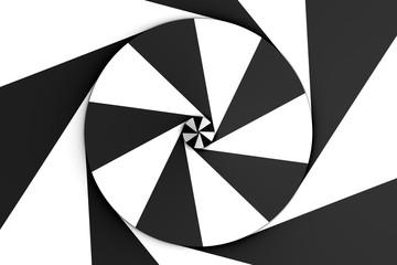 schwarz spirale