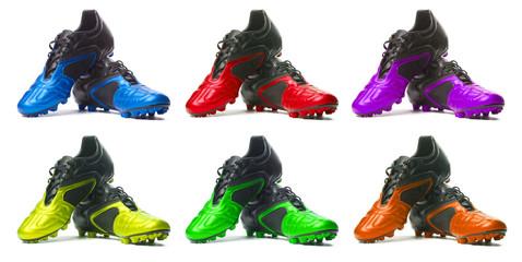 Sport shoes set.