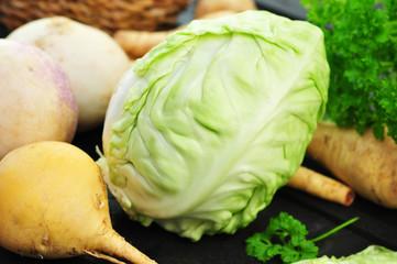 Weißkohl , Gemüse