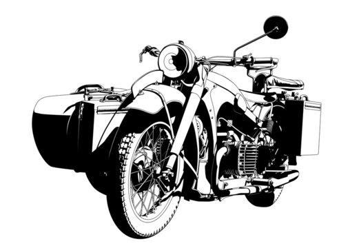 motorbike sidecar