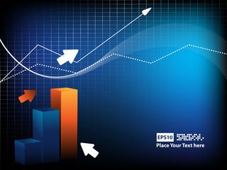 vector statistic backdrop. Eps10