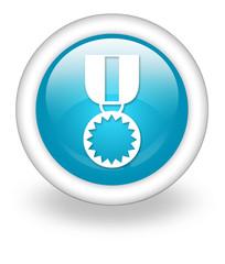 "Light Blue Icon ""Award Medal"""