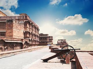 meherangarh fort - jodhpur - india