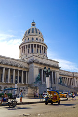 Fotobehang Havana The Capitol of Havana, Cuba.