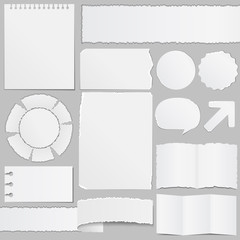 Old paper objects