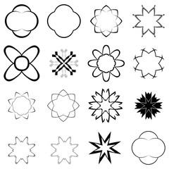 black elements for design