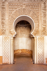Marrakech madrasah ornament