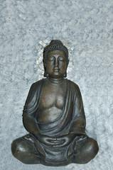Buda meditando.