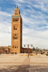 Marrakesh city mosque