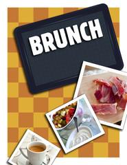 Brunch, lunch, cuisine, aliment, gastronomie, petit déjeuner