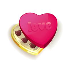 Vector illustration of sweet heart