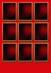 Cadres_Fond_Rouge_x9