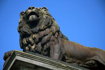 Butte du lion à Waterloo
