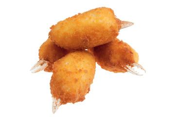 Chele di granchio fritte