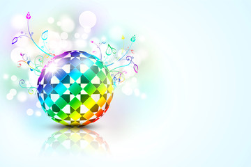 colorful 3d ball
