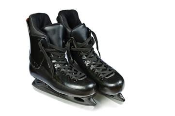 Hockey skates. Isolated on white background