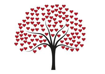 Baum voller Herzen