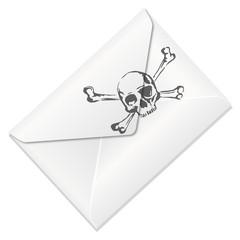 Enveloppe_Tete de mort
