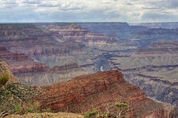 Grand Canyon. HDR image .