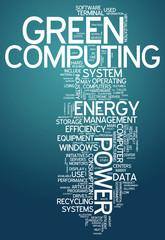"Word Cloud ""Green Computing"""