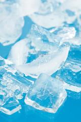 fresh cool ice cube