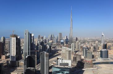 Dubai Downtown view, United Arab Emirates
