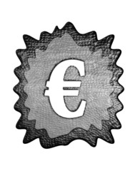 3d metal euro mark