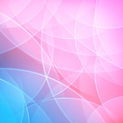 pink smooth twist light lines