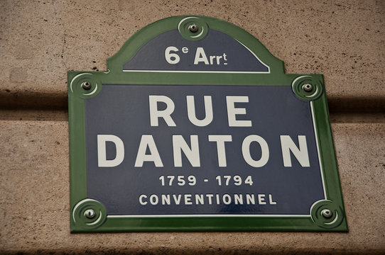 rue Danton à Paris 6ièm