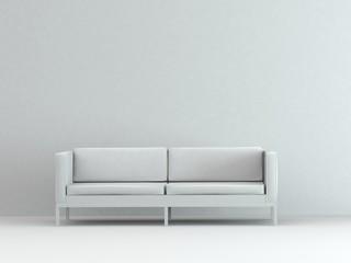 Modell - schlichtes Sofa