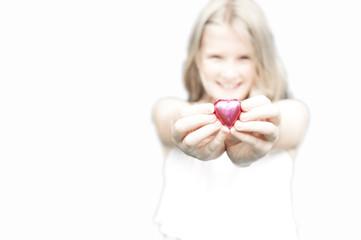choc heart gift