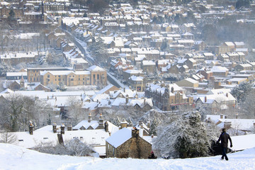 Matlock Town view - Winter