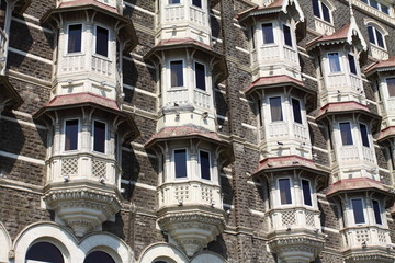 luxury historic hotel Taj Mahal Palace in Mumbai