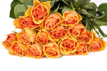 Ein schöner Strauß Rosen