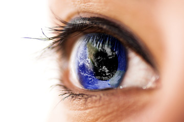 The world in eye