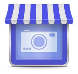Camera Shop Button