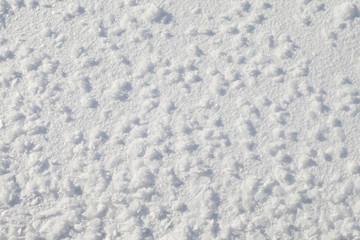 Snow texture.