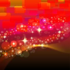 abstraktes lichtermeer - event