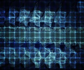 Computer graphics abstract dark blue texture
