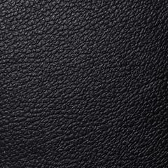 Keuken foto achterwand Leder Struktur von schwarzem Leder, Nahaufnahme