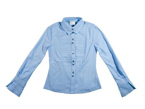 Children's blue blouse.