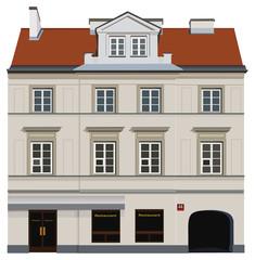 Classical facade