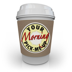 Your Morning Pick-Me-Up Cup of Coffee