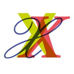 Lettrine_X