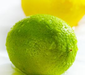 Lemon and lime.