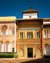 Detail of the famous Alcazar of Sevilla
