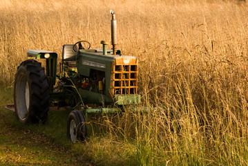 Autumn Tractor