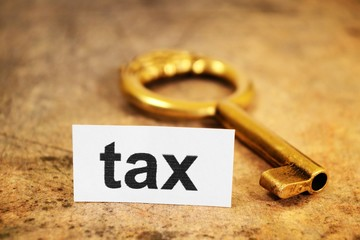 Tax and  golden key