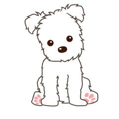 terrier dog vector